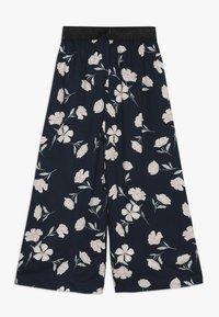 Name it - NKFLULONA 7/8 WIDE PANT - Trousers - dark sapphire - 1