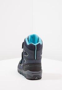 Hi-Tec - THUNDER WP  - Hiking shoes - navy/turquoise/black - 4