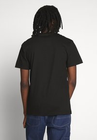 HUF - YEAR OF THE RAT TEE - T-shirt z nadrukiem - black - 2