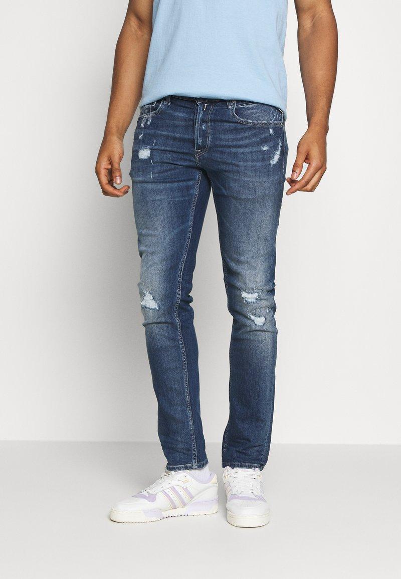 Replay - GROVER - Straight leg jeans - medium blue