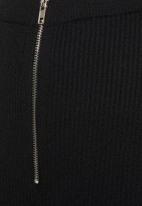 Missguided - CORSET ZIP  - Leggings - black - 2