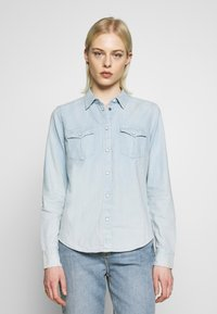 Lee - REGULAR WESTERN SHIRT - Skjorte - summer blue - 0