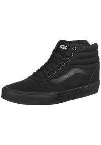 Vans - WARD HI  - Trainers - black  black - 2