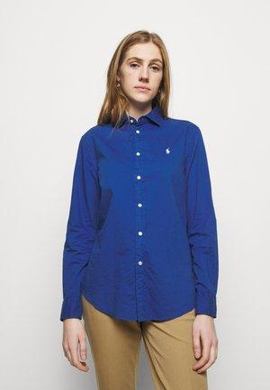 Button-down blouse - sapphire star