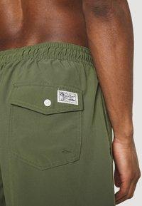 Polo Ralph Lauren - TRAVELER SWIM - Swimming shorts - supply olive - 2