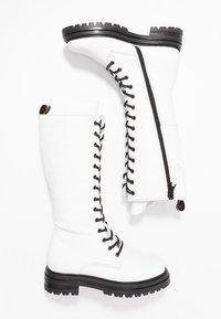 MJUS - Platform boots - bianco - 3