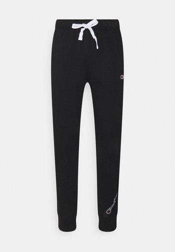 SPORTLEISURE CUFF PANTS - Tracksuit bottoms - black