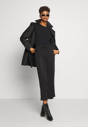 OBJTILDA TALULA ANKLE PANT - Trousers - black