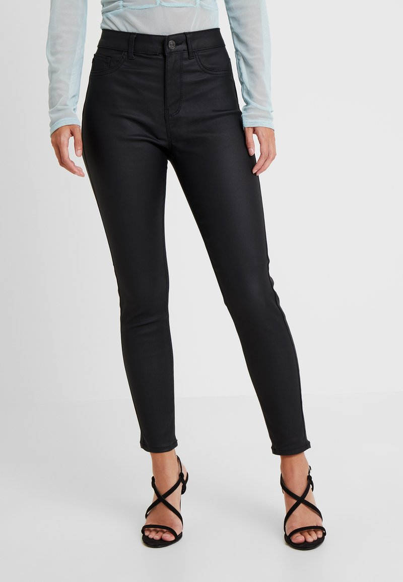 New Look Petite - HALLIE DISCO - Jeans Skinny - black