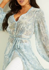 Guess - Shirt dress - himmelblau - 2