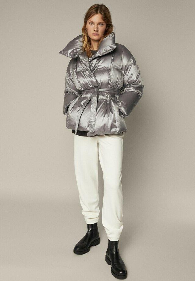 Gewatteerde jas - grey