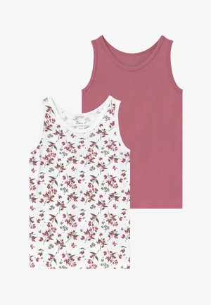 NMFTANK 2 PACK - Tílko - heather rose