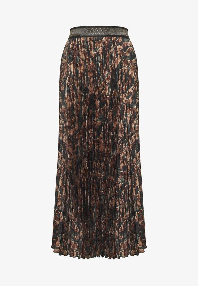 PLISSE FOREST SKIRT - Pleated skirt - duffel bag