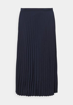 WENDY SKIRT SOLID - Pleated skirt - navy
