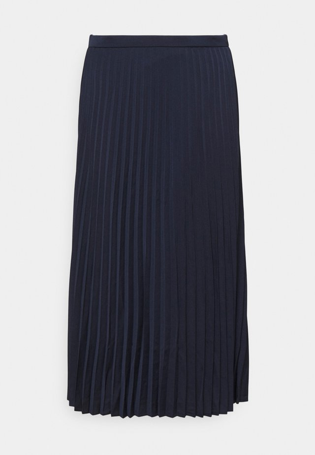 WENDY SKIRT SOLID - Faltenrock - navy