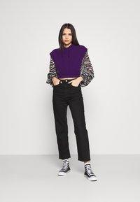 Topshop - HOOD - Print T-shirt - purple - 1