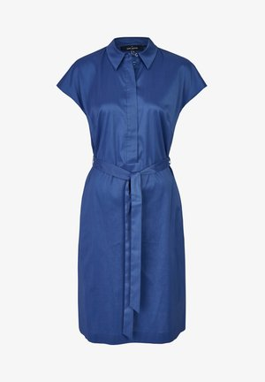 MIT GüRTELSCHLEIFE - Shirt dress - blau