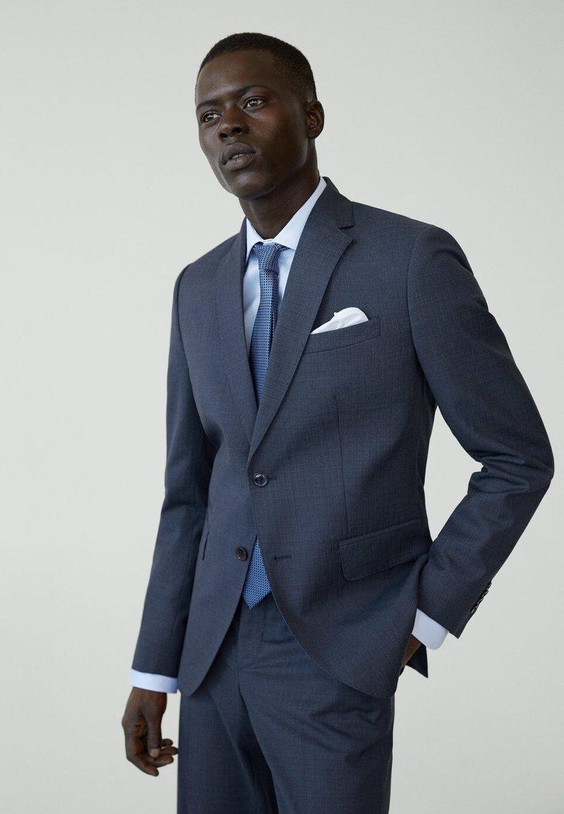 Mango - MILANO - Suit jacket - bleu de prusse