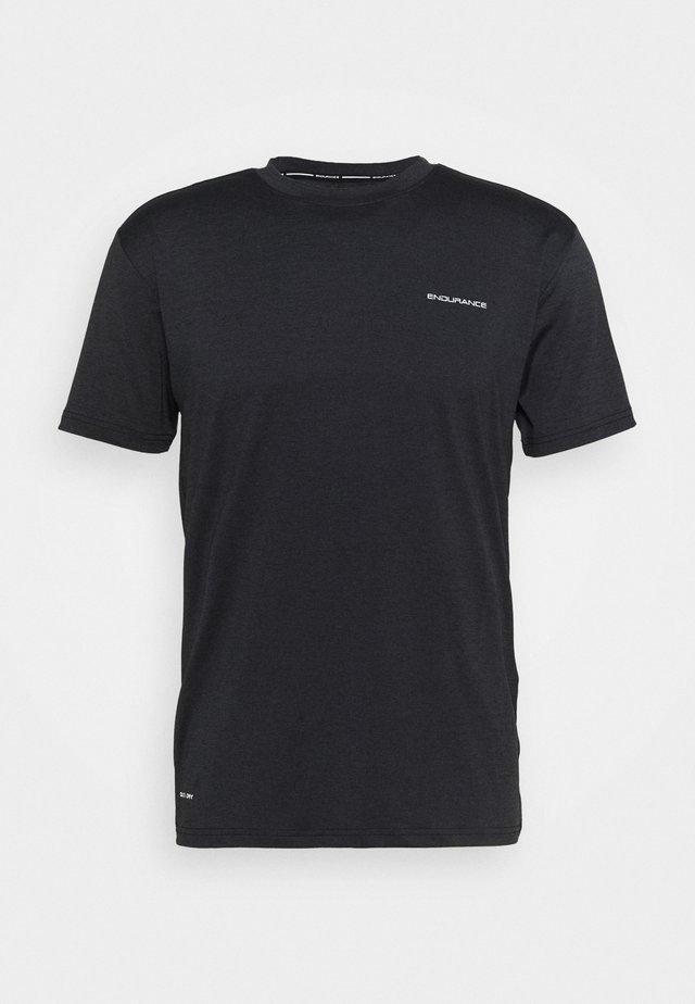 MELL TEE - T-shirt basic - black