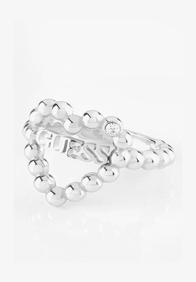 HEART ROMANCE - Pierścionek - silver-coloured