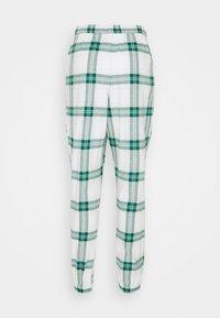 Hunkemöller - PANT TWILL CHECK CUFF - Pyjama bottoms - storm - 1