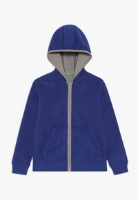 Benetton - JACKET HOOD - Fleecejakke - royal - 0