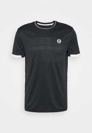 TENNIS YOUNGLINE PRO - Basic T-shirt - anthracite/blanc de blanc
