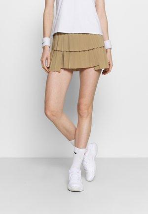 SKIRT PLEATED - Sports skirt - parachute beige/white