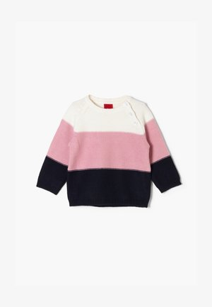 Jumper - ecru stripes