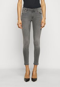 AG Jeans - ANKLE - Jeans Skinny Fit - gray light - 0