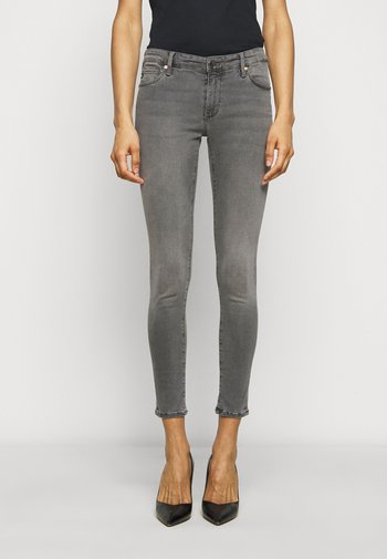 ANKLE - Jeans Skinny Fit - gray light