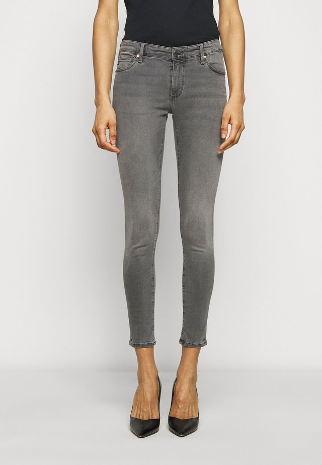 ANKLE - Jeggings - gray light