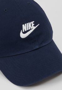 Nike Sportswear - FUTURA WASHED - Cappellino - obsidian/obsidian/white - 2