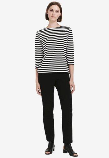 ILMA - Langarmshirt - white/black