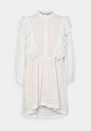 ELISE - Robe chemise - white