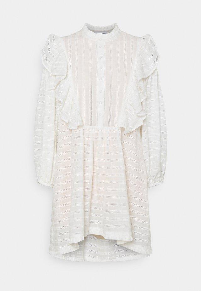 ELISE - Košilové šaty - white