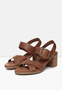 Timberland - TALLULAH MAY CROSS BAND - Riemensandalette - saddle - 2