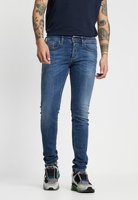 Diesel - SLEENKER - Jeans Skinny Fit - dark-blue denim - 0