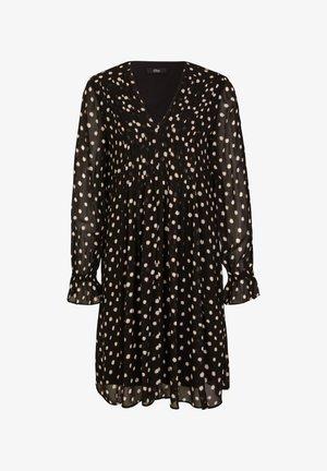 Vestito estivo - black polkadots
