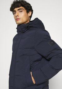 Tommy Hilfiger - HOODED STRETCH - Talvitakki - blue - 3