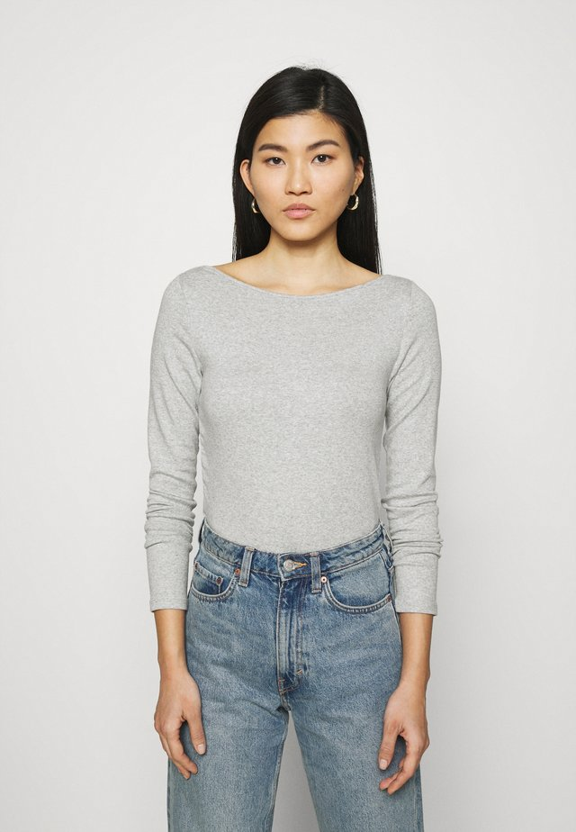 BATEAU - Long sleeved top - heather grey