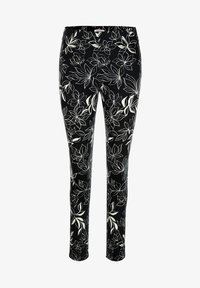 Alba Moda - Trousers - schwarz off White - 2