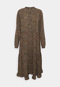 XIMMA DRESS - Shirt dress - black mix