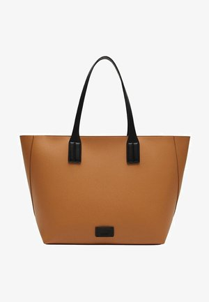 EDISON - Velká kabelka - średni brązowy
