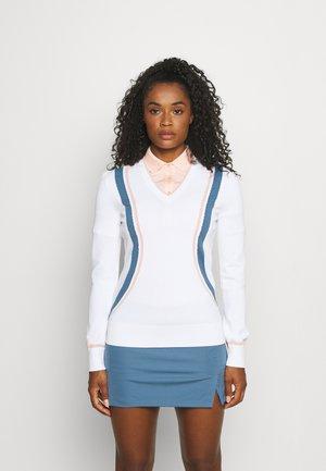 BIANCA GOLF - Pullover - white