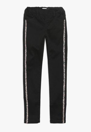 NKFPOLLY TAPE - Leggings - Trousers - black