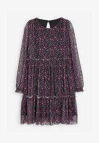 Next - Day dress - purple - 0