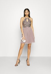 Lace & Beads - ADALYN SKATER - Cocktail dress / Party dress - mauve - 1