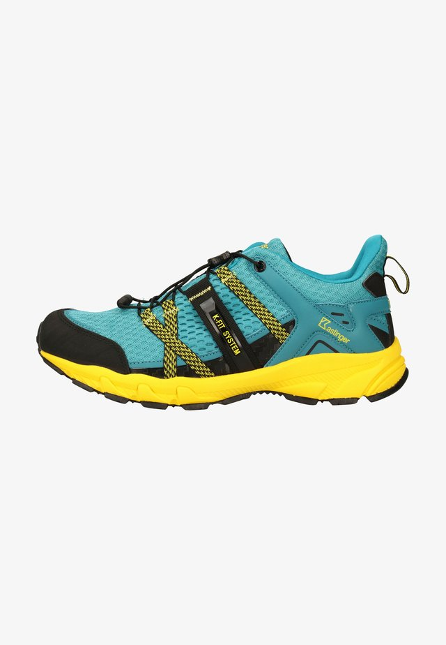 Trail running shoes - petrol 480