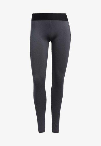 ALPHASKIN LONG LEGGINGS - Leggings - grey